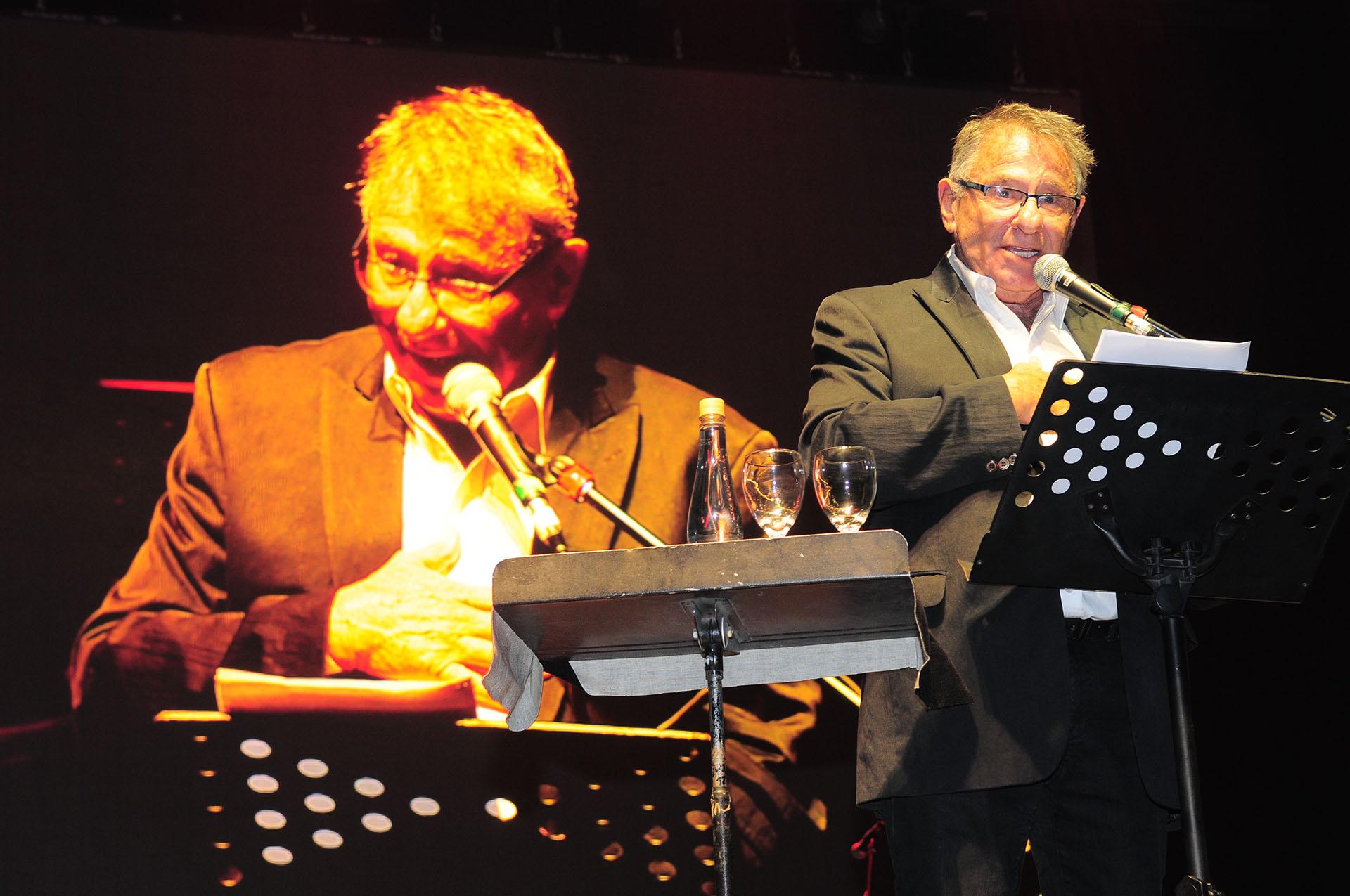 Gerardo Gerson en la apertura del evento