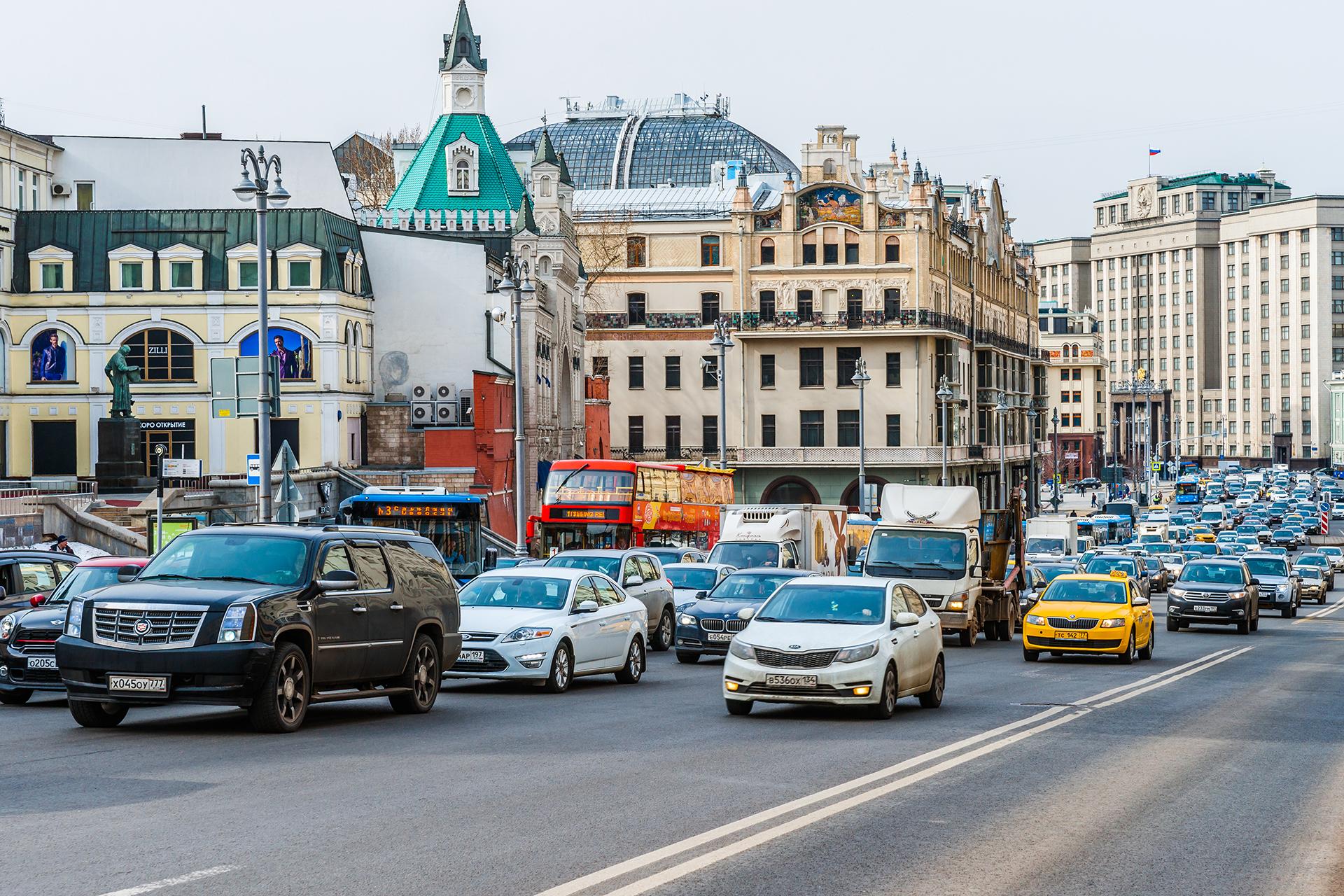 A pesar de la problemática de los taxistas sin licencia, la ciudad de Moscú cuenta con alrededor de 60.000 con licencia para transportar pasajeros (Getty Images)