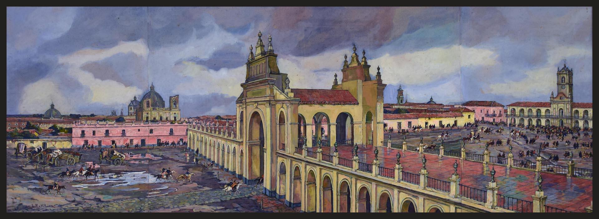 Este cuadro es el número 1 del inventario del Museo del Cabildo