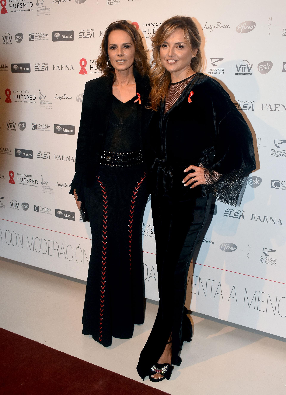Nathalie Sielecki y Pamela Saguier