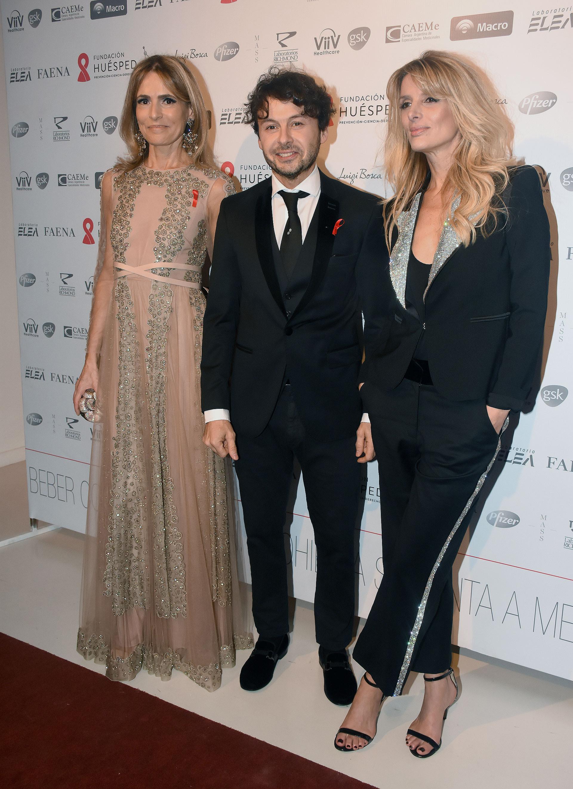 Rossella Della Giovampaola, Wally Diamante y Andrea Martínez