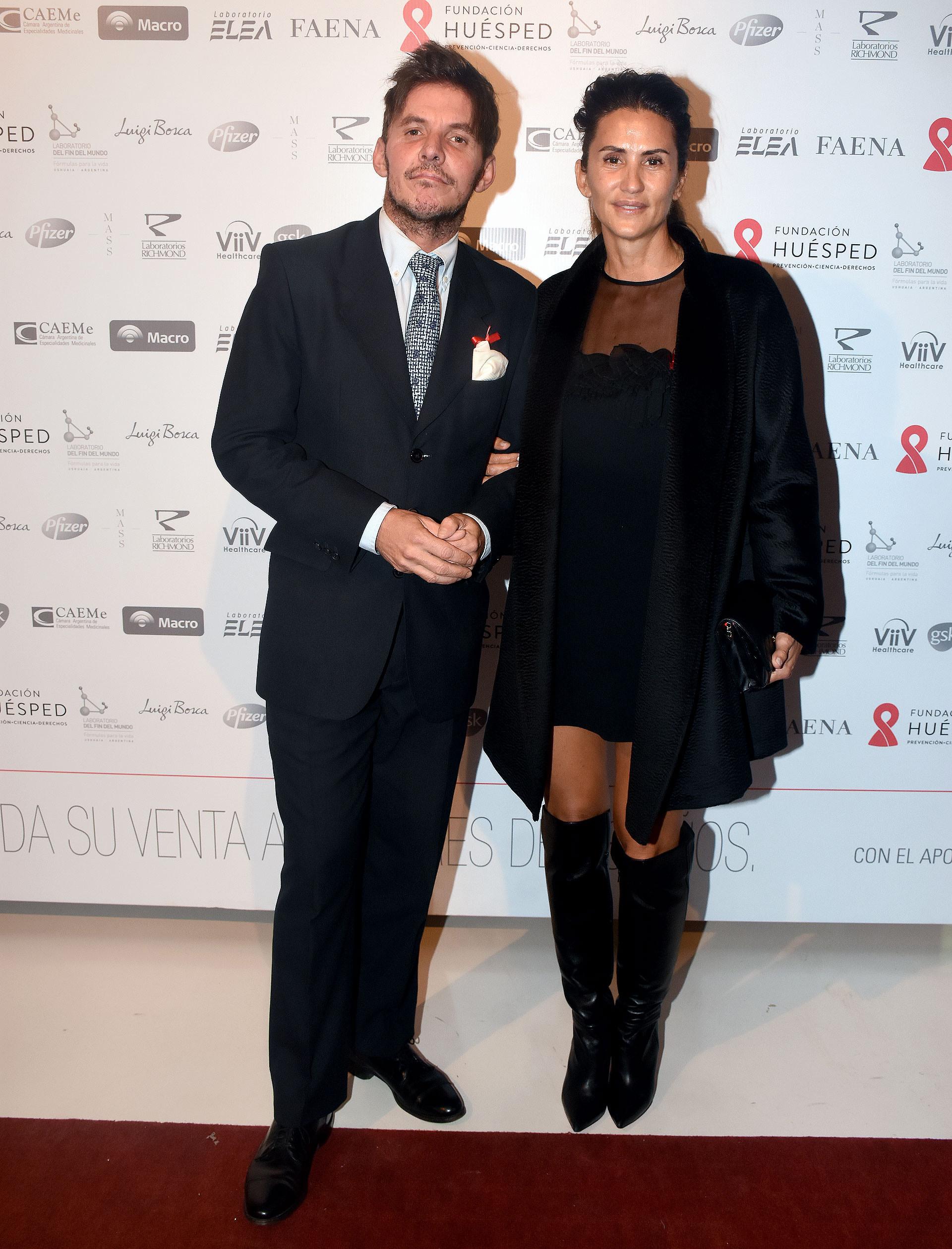 Gerard Confalonieri y Mercedes Ocampo