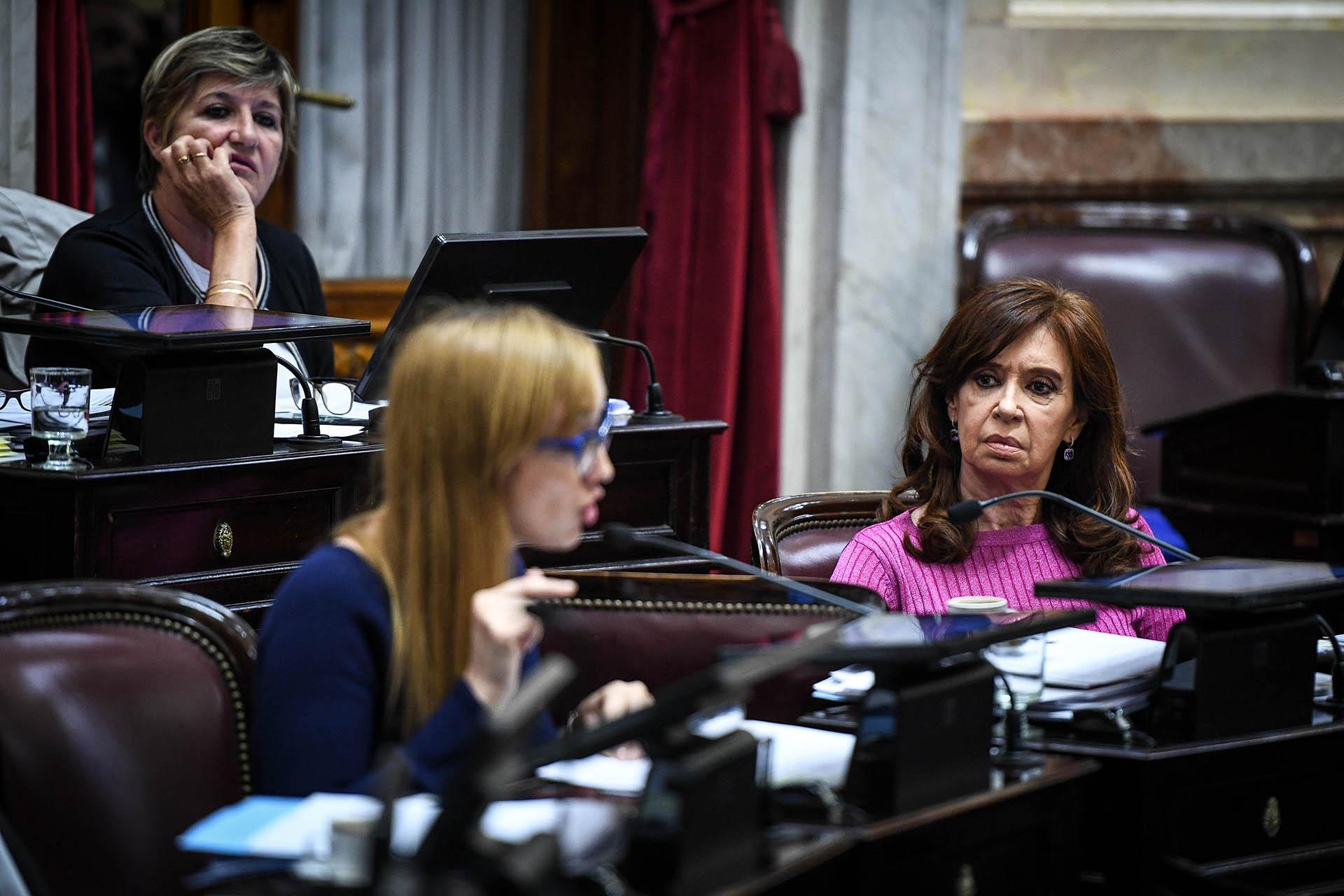 Habla la senadora Fernández Sagasti