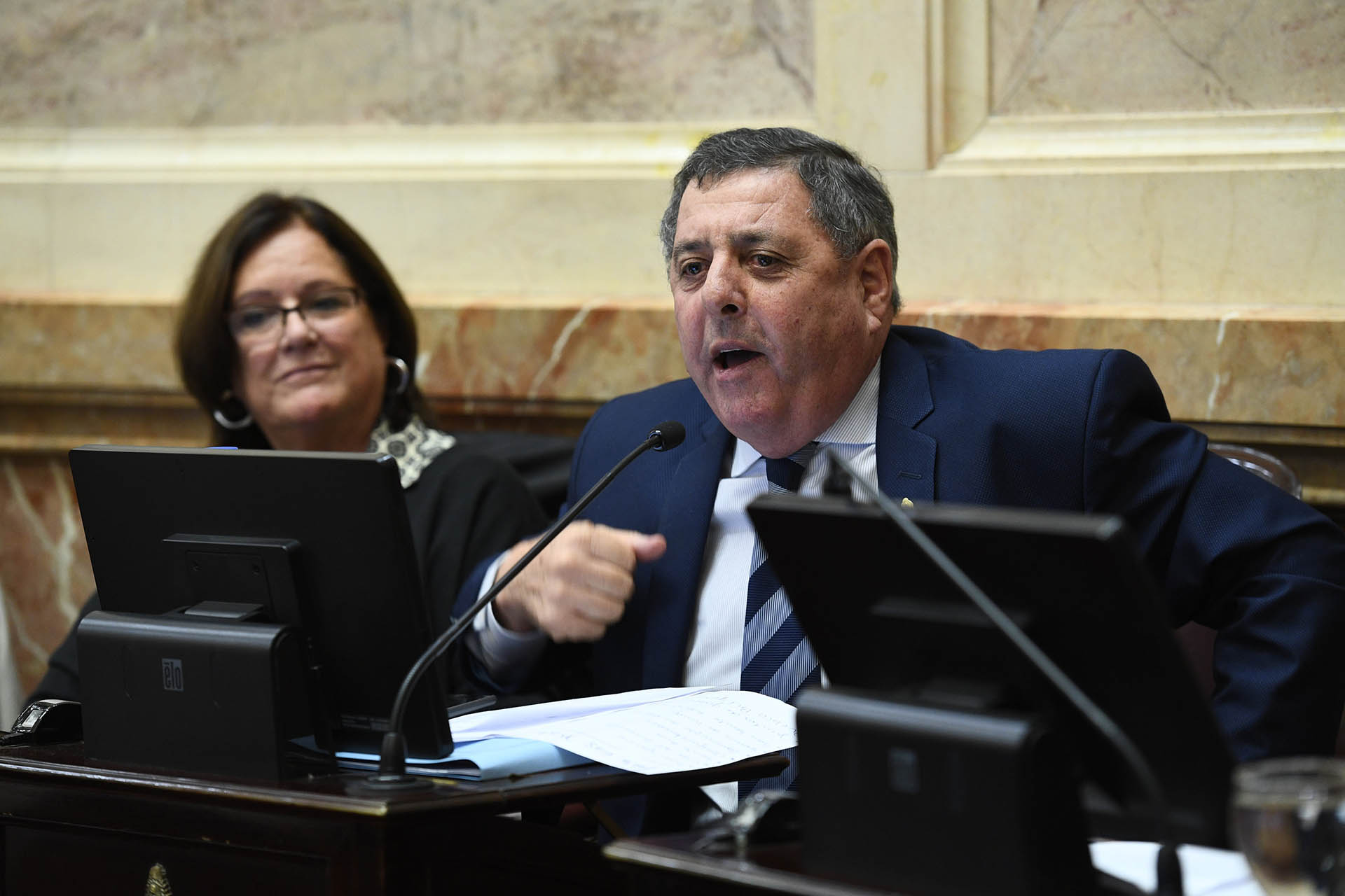El entrerriano Alfredo De Angeli