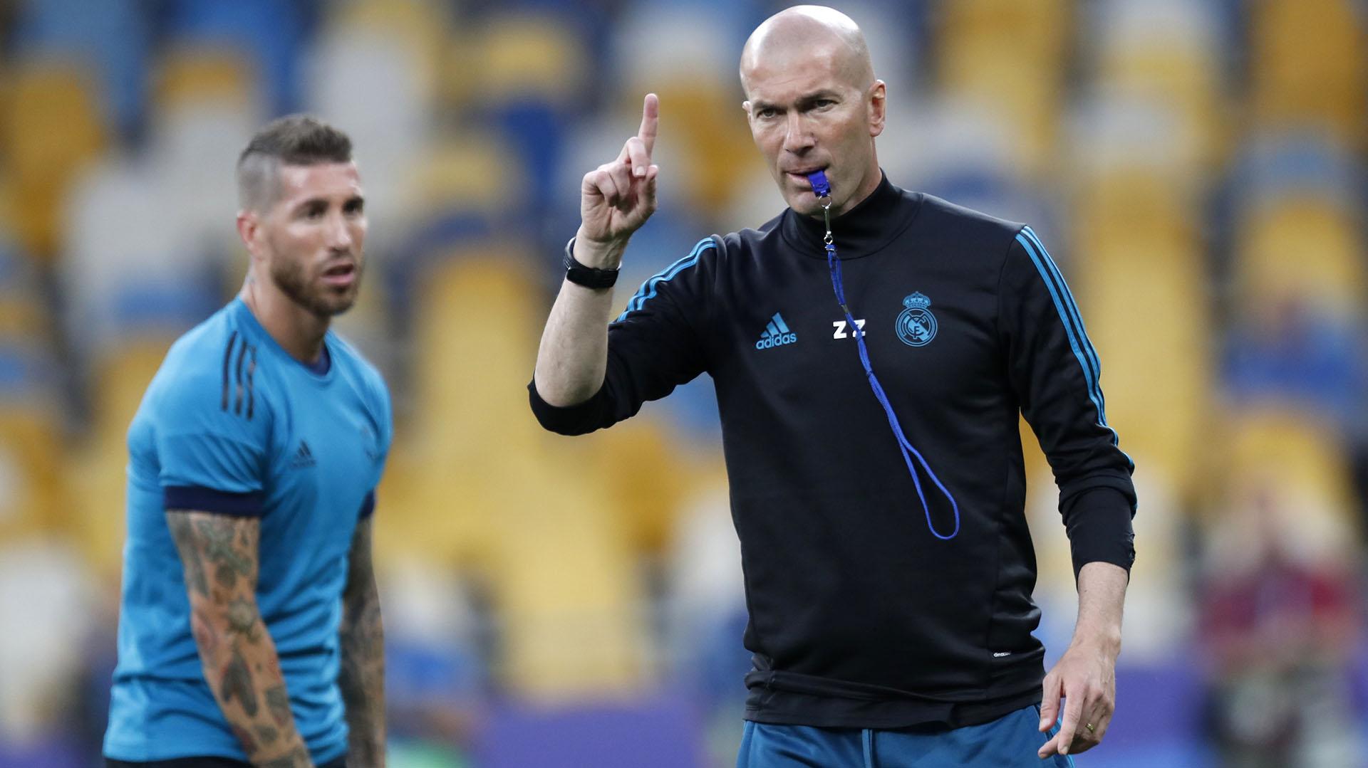 Zidane consiguió 9 títulos con el Real Madrid