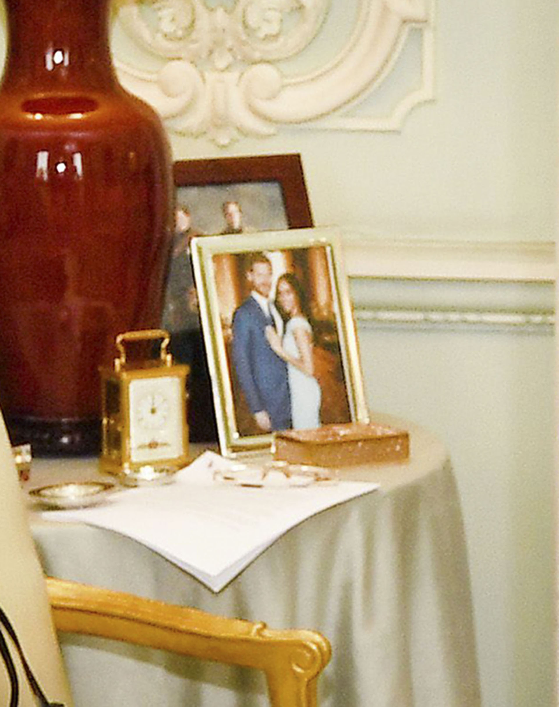La imagen que tiene la reina Isabel II en el Palacio de Buckingham (Shutterstock /The Grosby Group)
