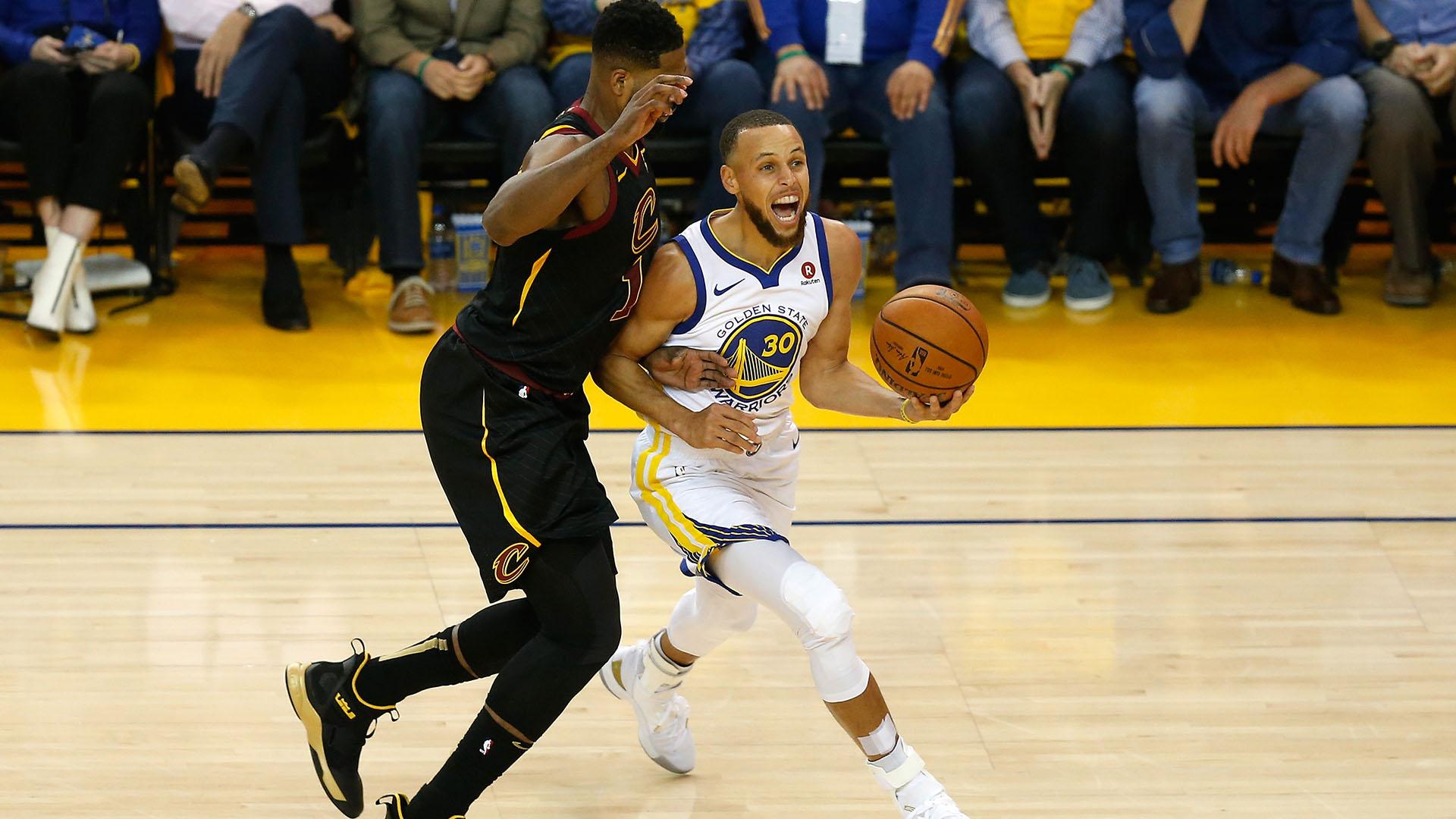 Los Warriors con los grandes favoritos (Foto: AFP)