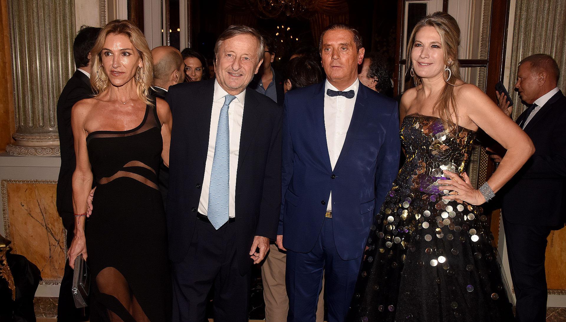 Gabriela Castellani, Cristiano Rattazzi, Fernando Scattini y Ana Rusconi