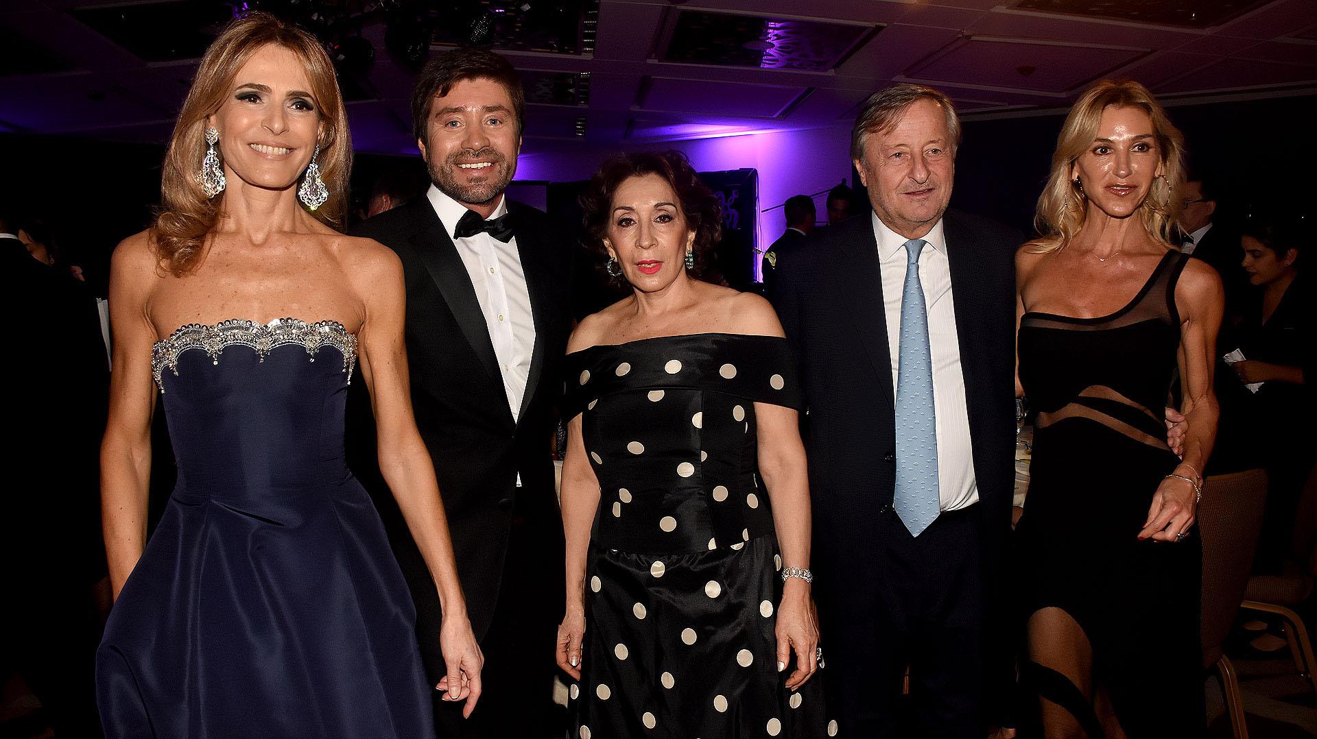 Rossella Della Giovampaola, Walter Ramírez Moyano, Graciela Pérez Lastra, Cristiano Rattazzi y Gabriela Castellani