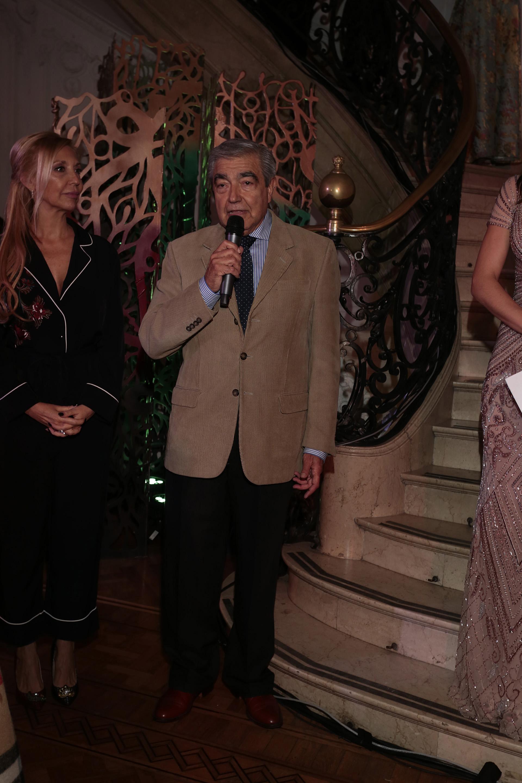 El director del Hospital Pedro de Elizalde (ex Casa Cuna), Norberto Garrote