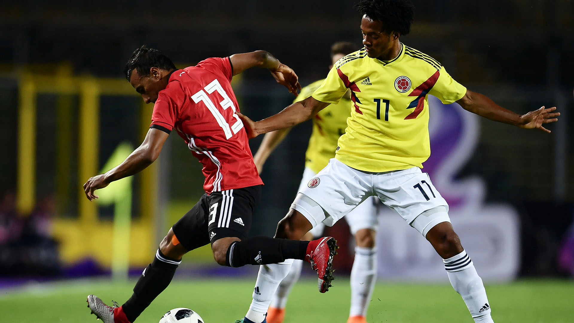 Colombia se enfrenta con Egipto en un amistoso previo al Mundial (AFP)
