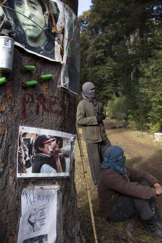 El predio de Villa Mascardi donde murió el joven mapuche Rafael Nahuel (Euge Neme)