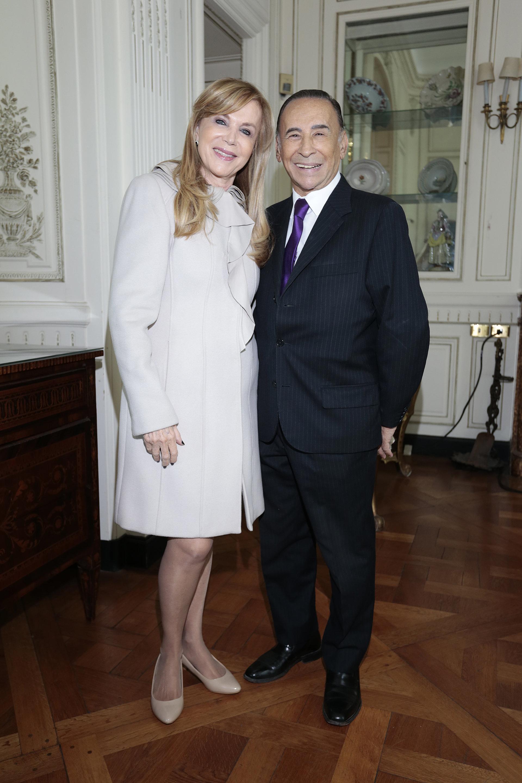 Carlos Cecchi y su mujer