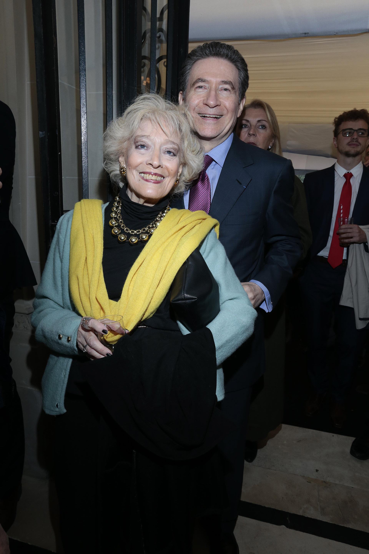 El embajador de Francia en la Argentina, Pierre-Henri Guignard, y su mujer