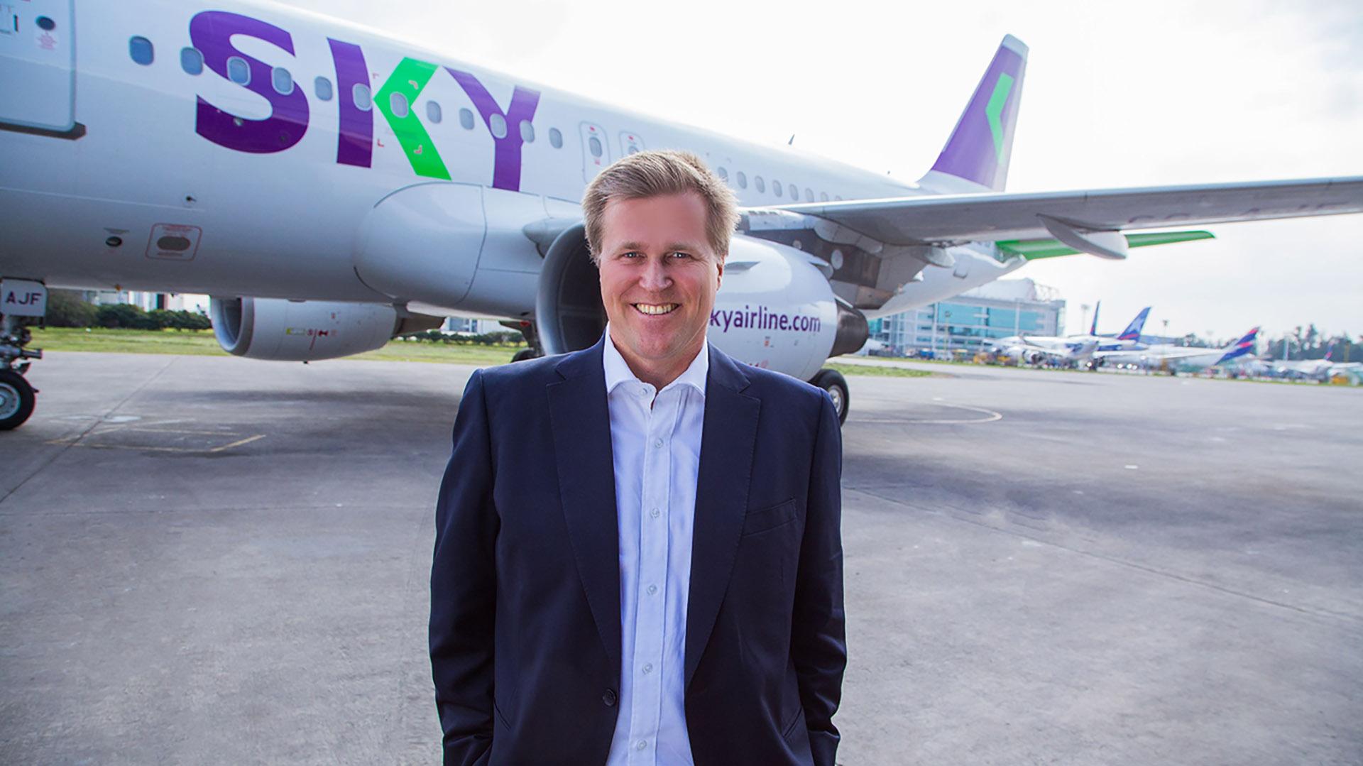El CEO de SKY, Holger Paulmann.