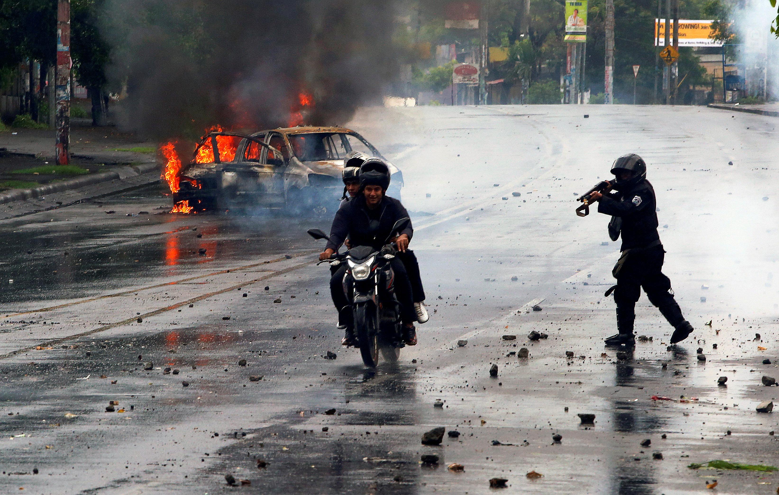 La represión dle régimen de Ortega ya asesinó a más de 400 personas (Reuters)