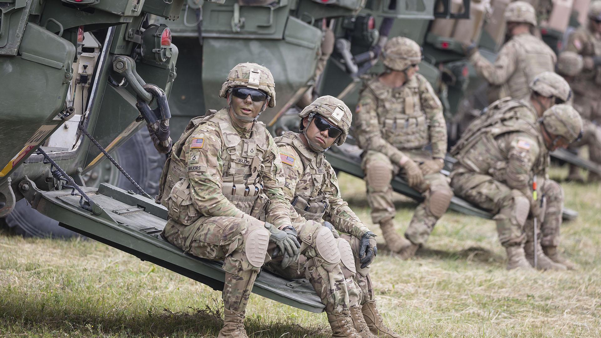 Estados Unidos quiere ampliar el número de tropas en el Mar Negro (AFP)