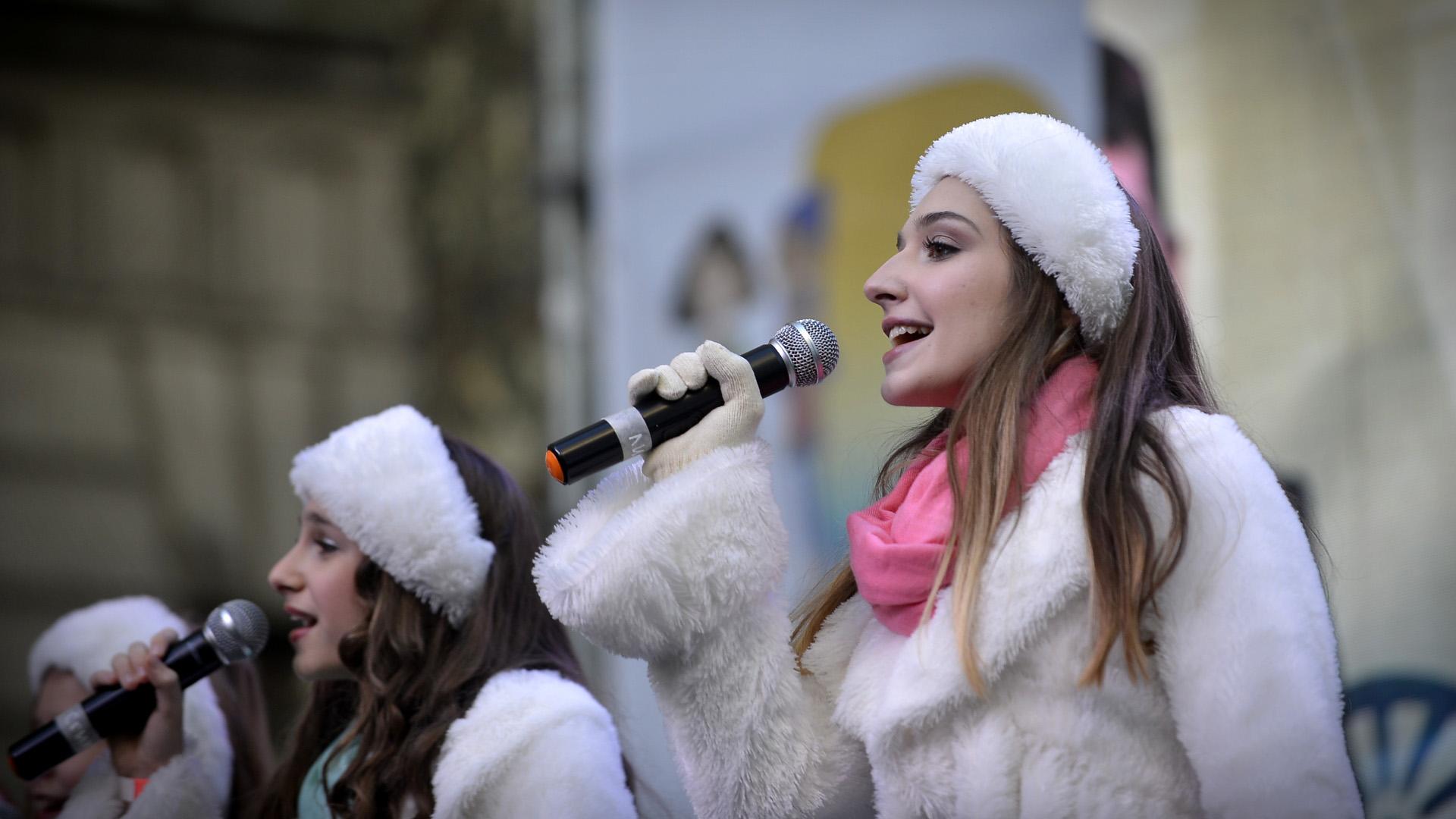 La legisladora se mostró muy preocupada por las mujeres rusas durante el evento (Gustavo Gavotti)