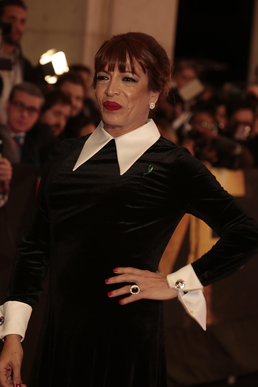 Lizy Tagliani tuvo su gran noche, aunque no se llevó el premio a Mejor Labor Humorística, se lució como notera de la previa y la alfombra roja del Martín Fierro y fue una de las figuras que le puso diversión a laceremonia