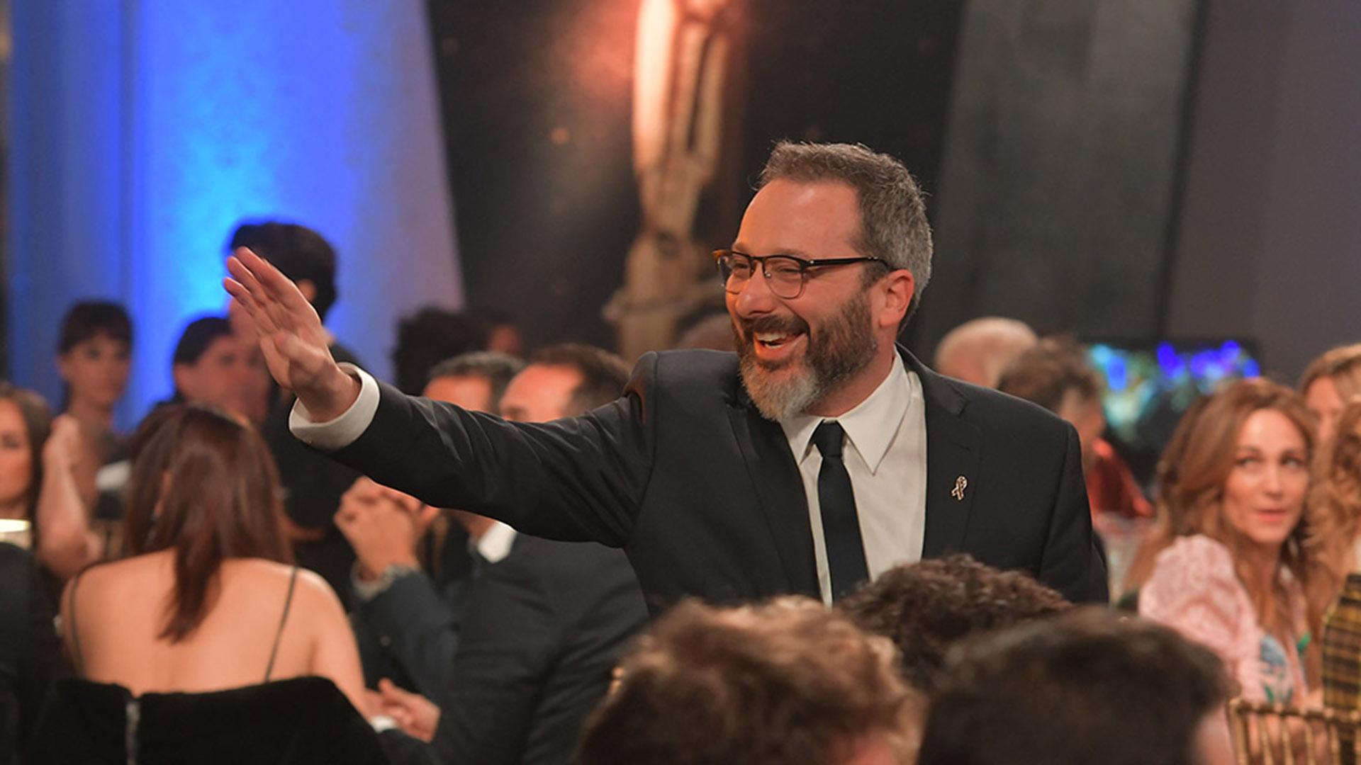 Gerardo Rosín, figura de Telefe, disfrutó de la gran noche