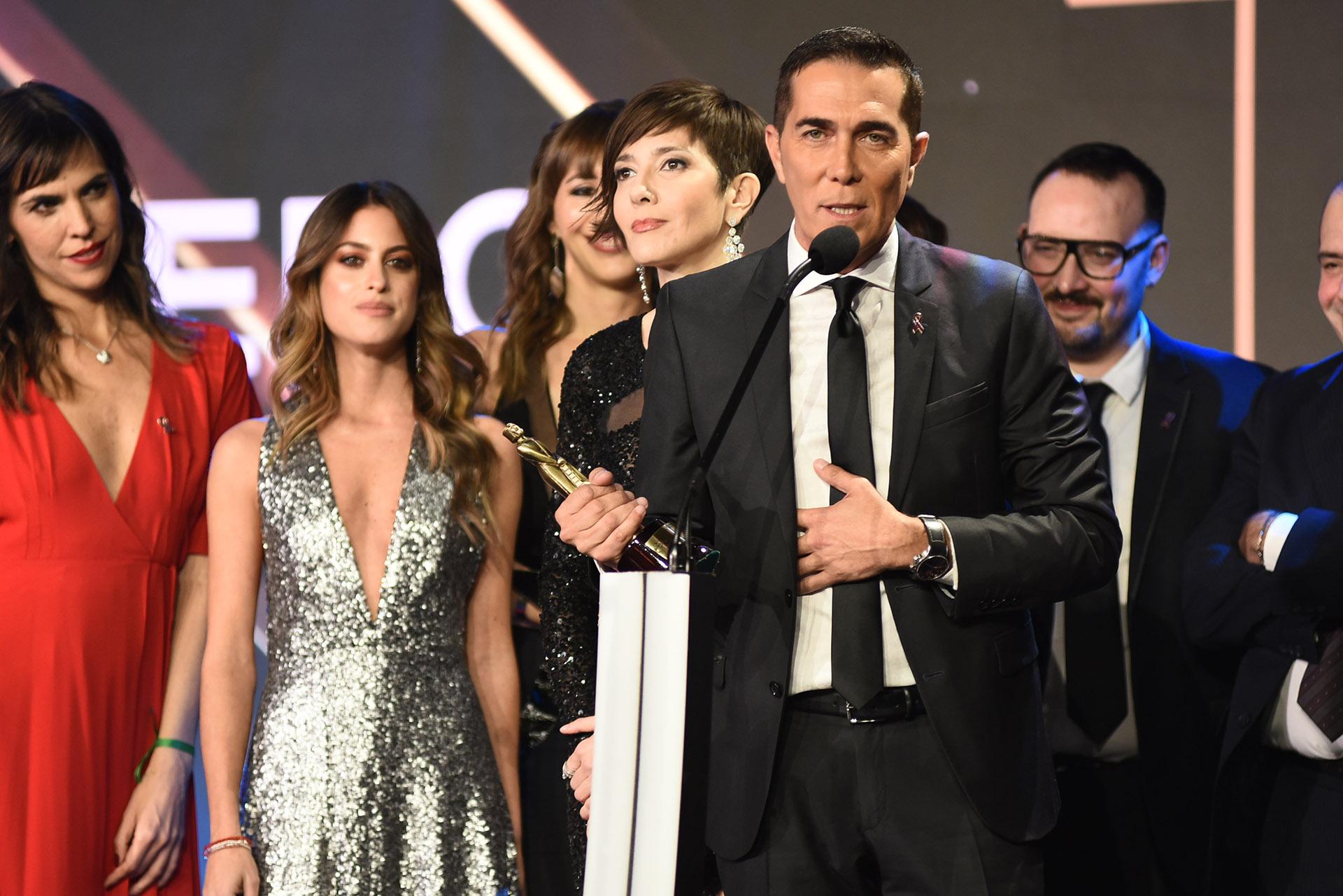 El agradecimiento de Rodolfo Barili por el premio de Telefe Noticias a las 20 como Mejor Noticiero