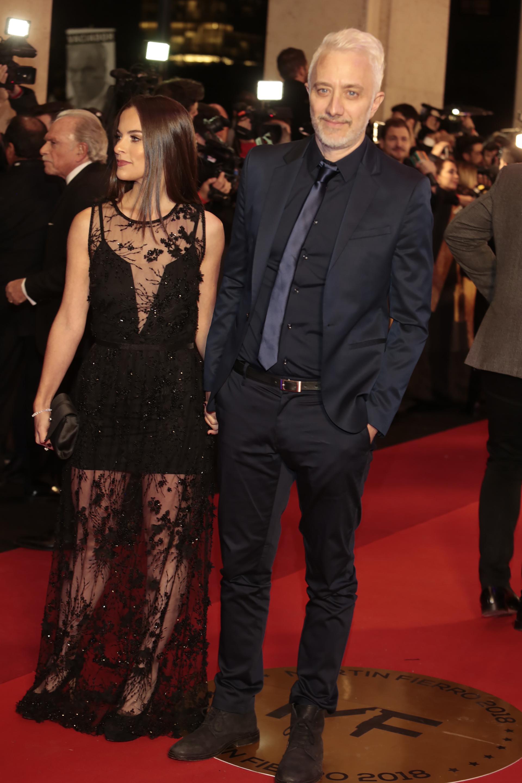 """Andy Kusnetzoff y su novia Florencia """"Kourny"""" Suárez comparten trabajo en """"Perros de la Calle"""", donde ella es productora. También son padres de Helena"""