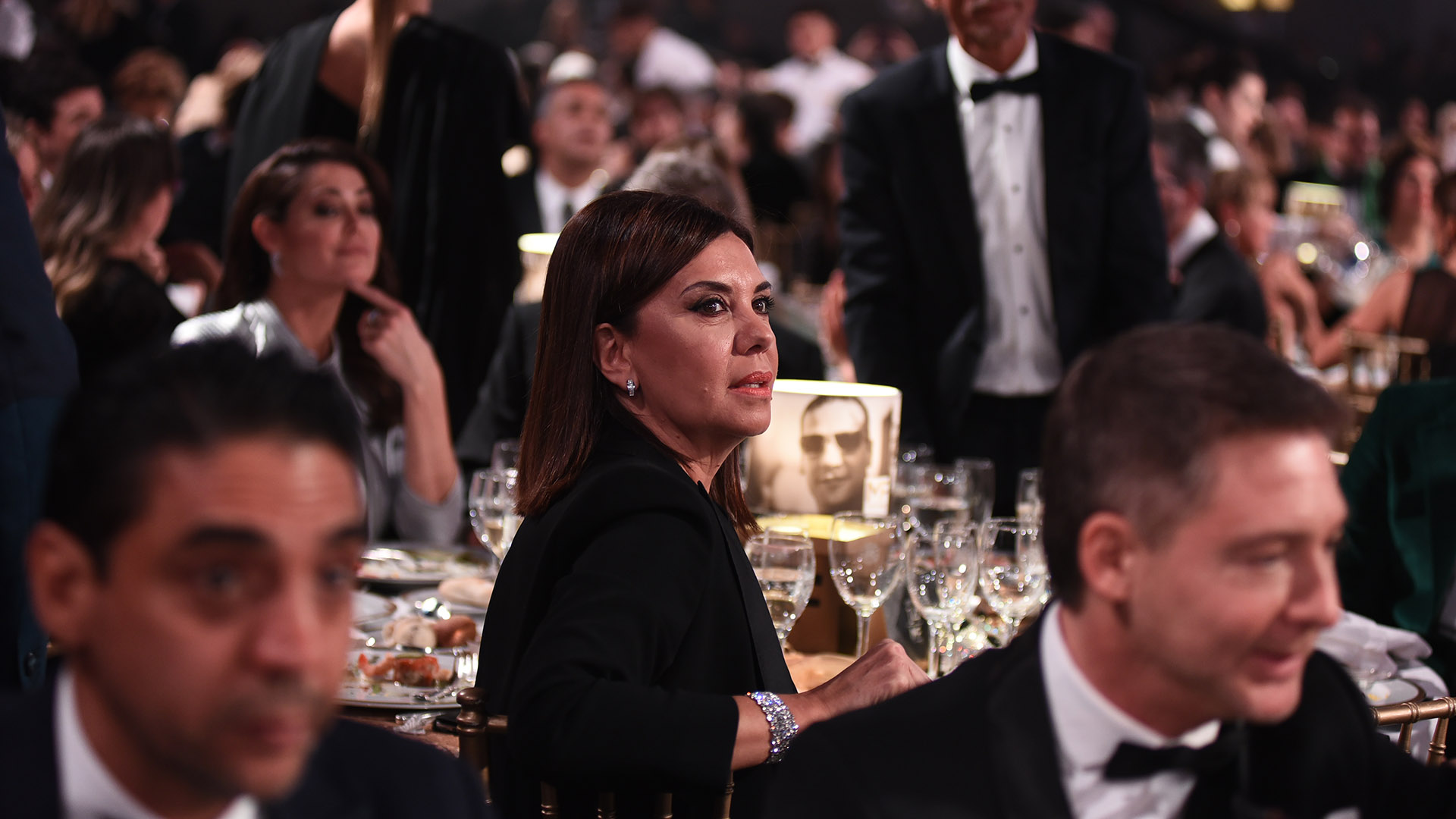 Liliana Parodi, Gerenta de programación de América, muy cerca de Coco Fernández y Adrián Suar