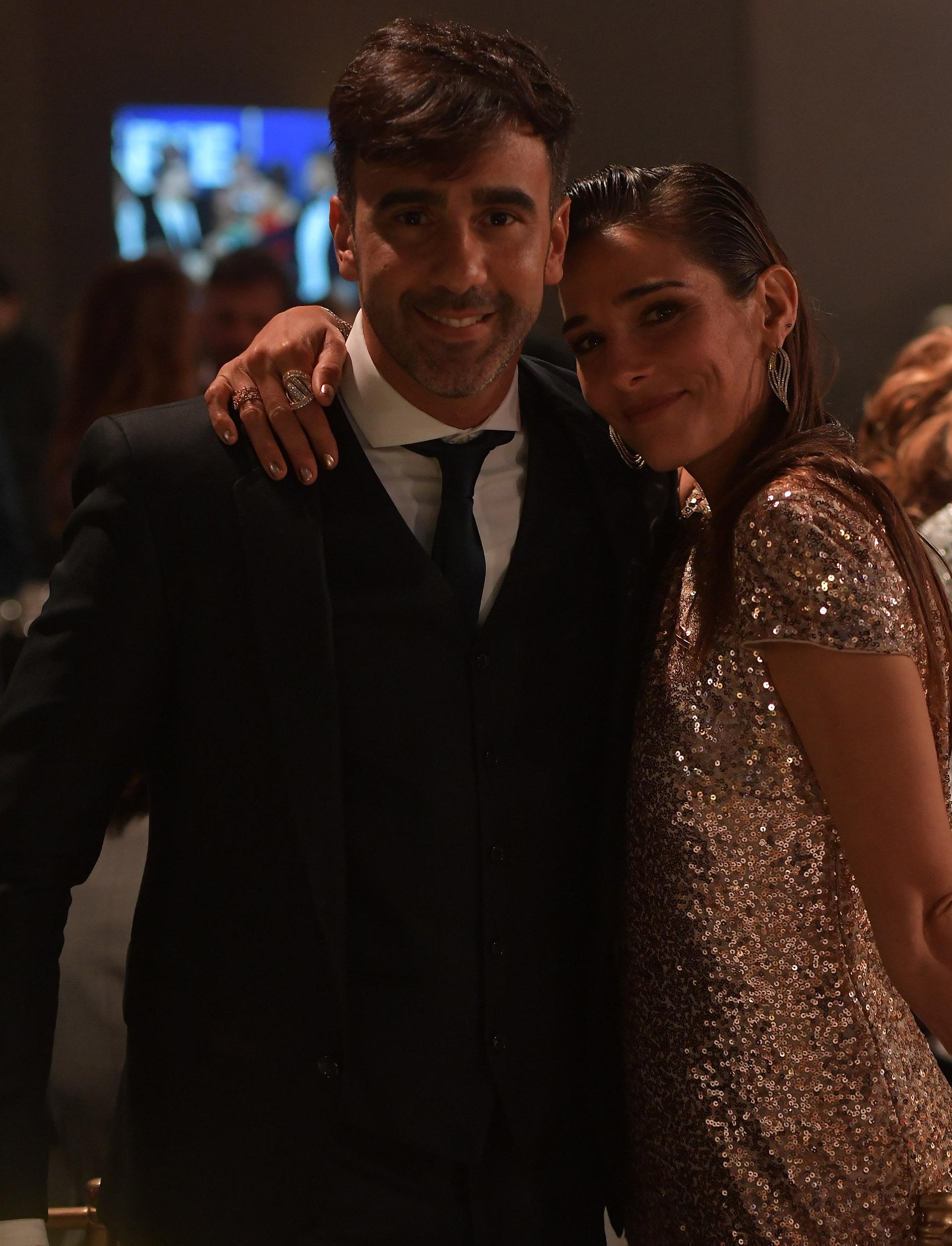 """Federico Hoppe y Juana Viale, abrazos y recuerdos de cuando la nieta de Mirtha participó en el """"Bailando"""""""