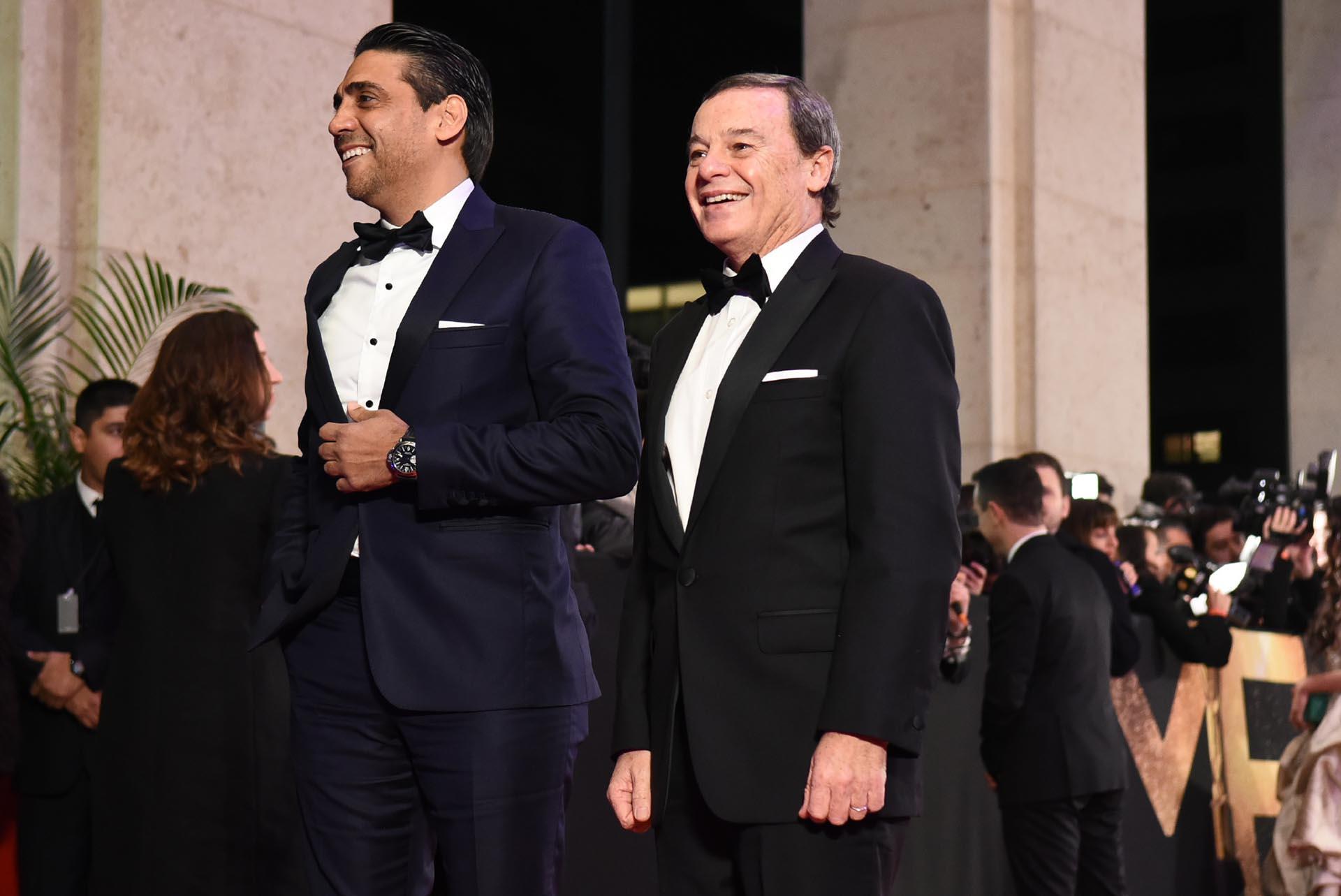 ¡Qué elegancia la de El Trece! Coco Fernández y Pablo Codevilla, directivos de Programación y Producción del canal de constitución, presentes en la gala del hotel Alvear Icon
