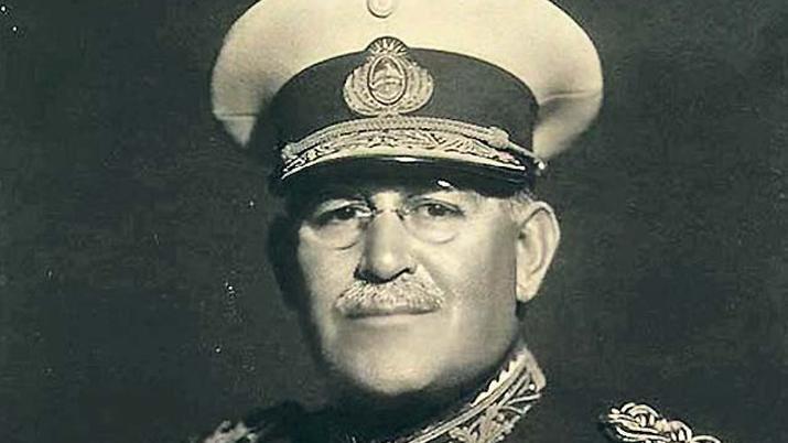 Agustín P. Justo, presidente de la Nación entre 1932 y 1938.