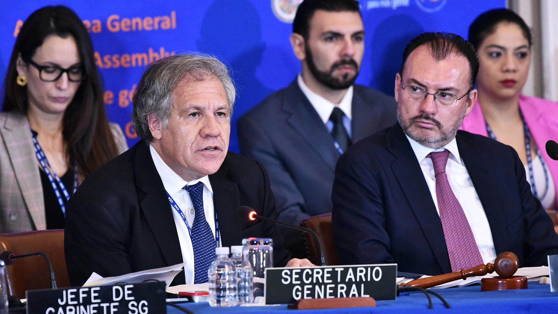 Luis Almagro (AFP)