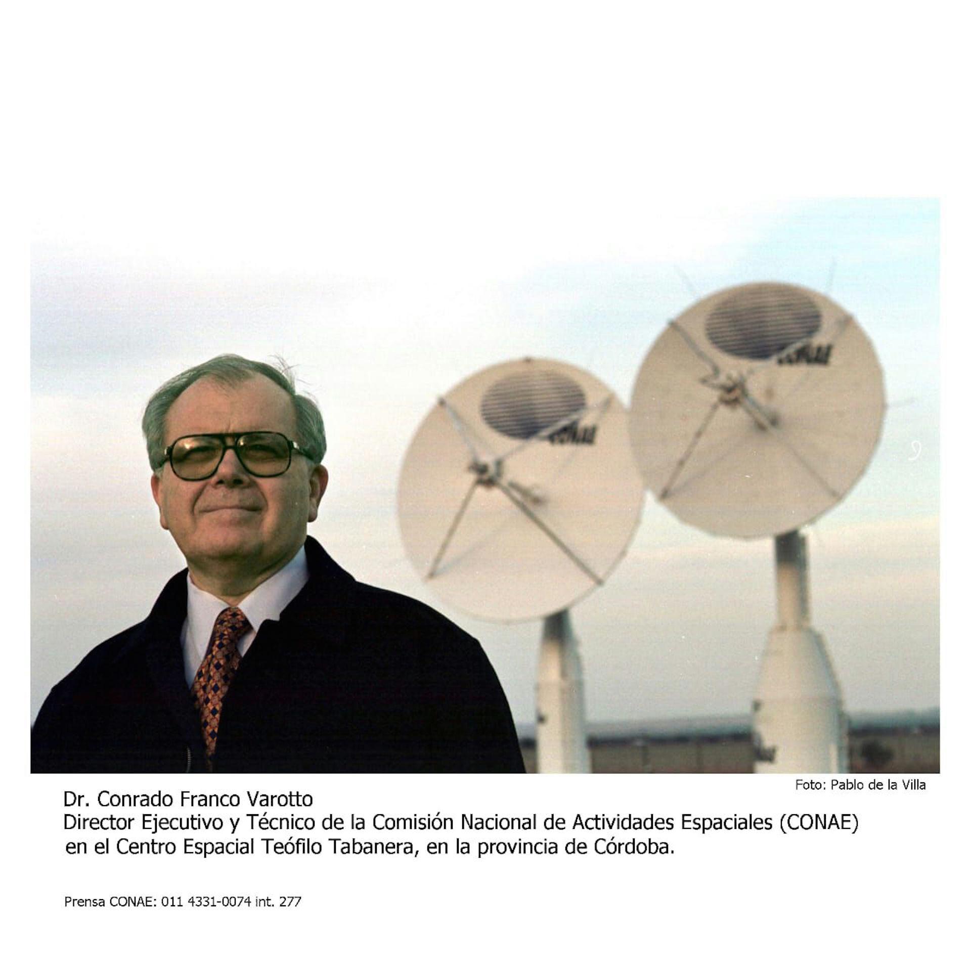 #GENTE Conrado franco varotto CONAE