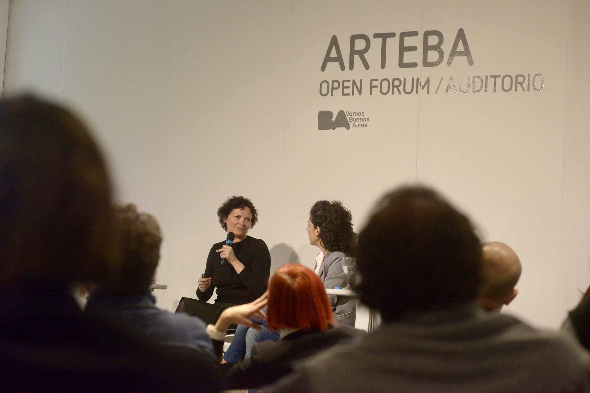 Alemani participó de la última edición de arteBA