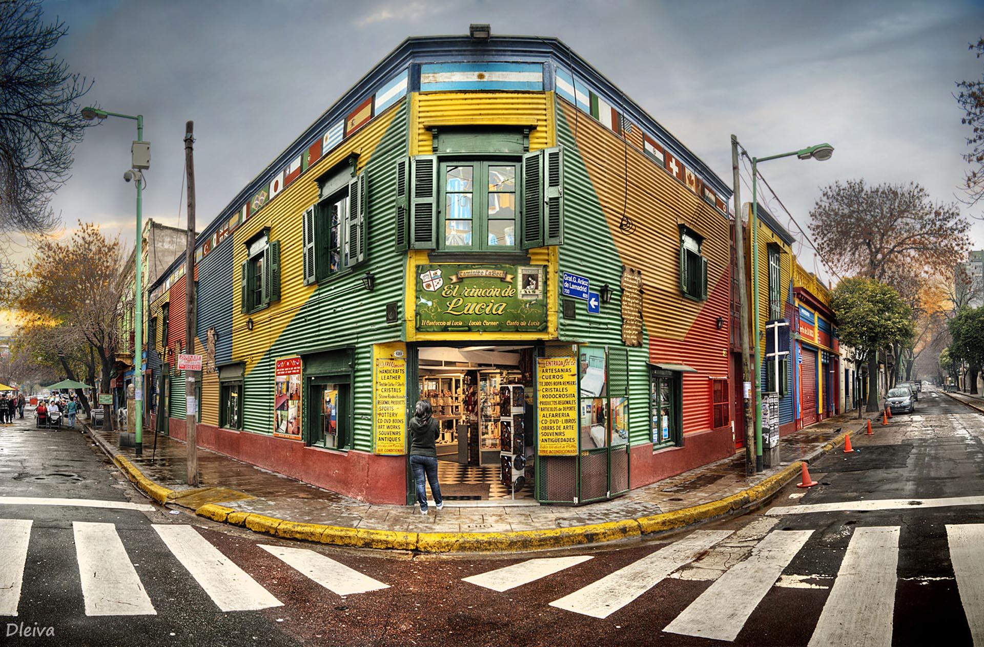 La Boca, uno de los barrios elegidos como escenario de Arte Basel Cities