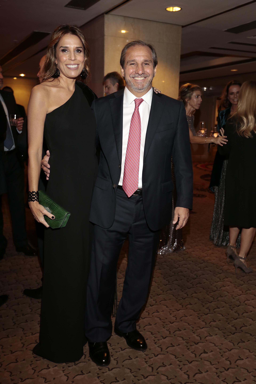 El cónsul general de Singapur en la Argentina, Nicolás Caputo, y su mujer Agustina