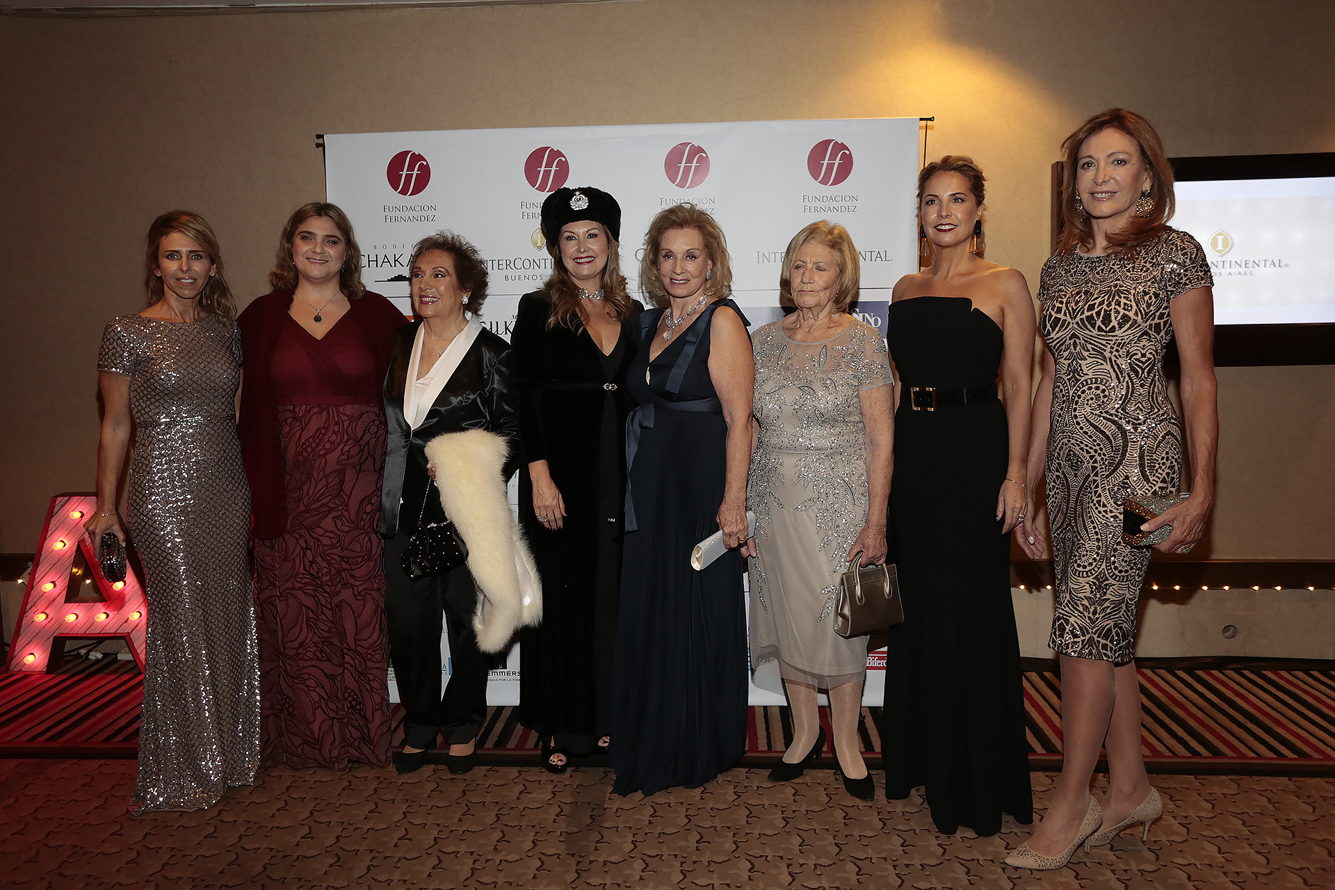 Las mujeres que, incansablemente, trabajan a favor de la Fundación Fernández