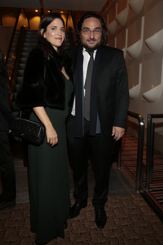 Martín Kweller y su mujer