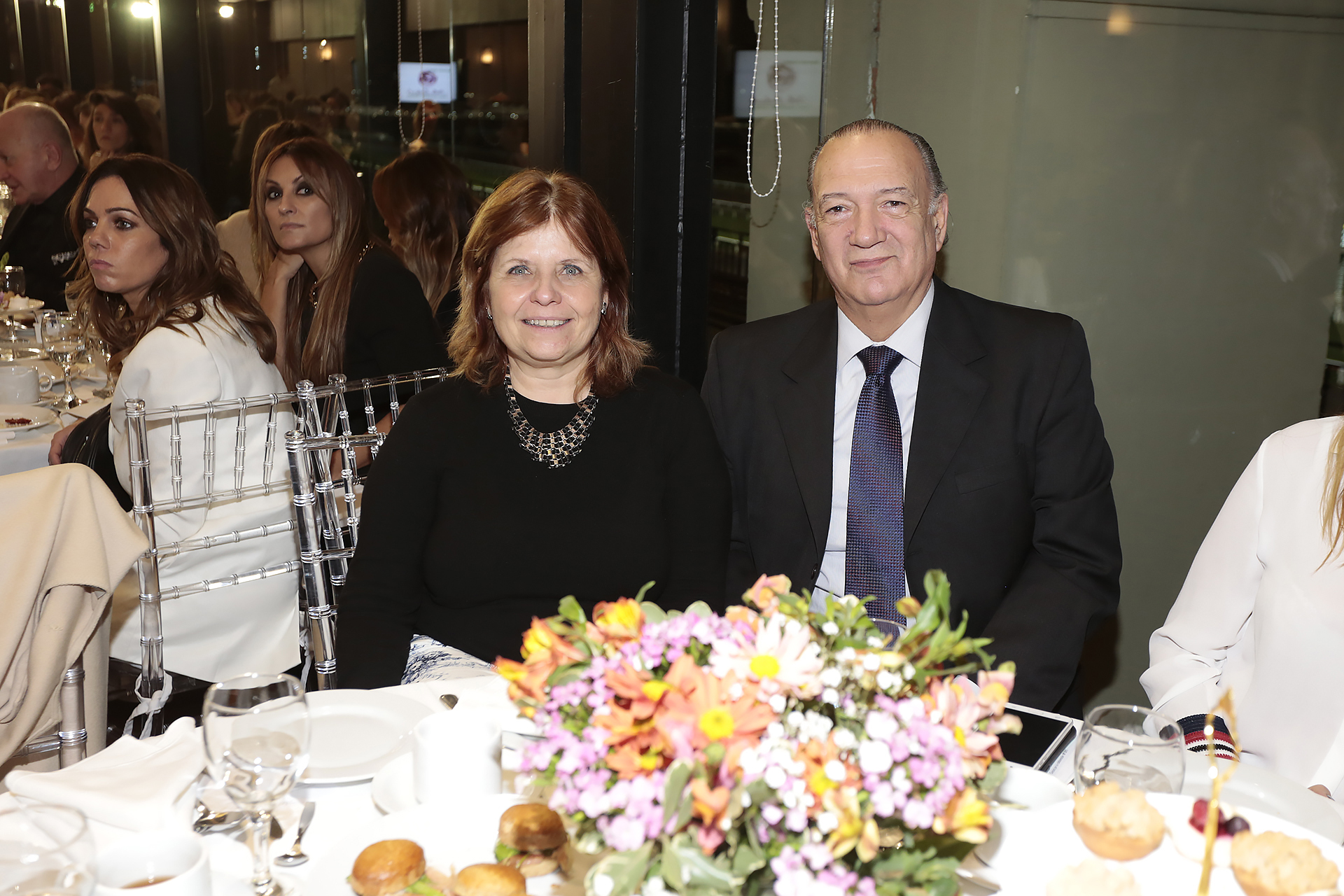 Eduardo Fernández Rostello, director del Hospital Bernardino Rivadavia; y Ana María Bou Pérez, ministra de Salud porteña