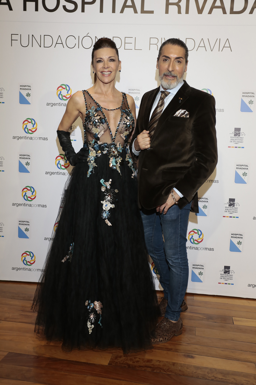 Fabiana Araujo y Cesar Juricich