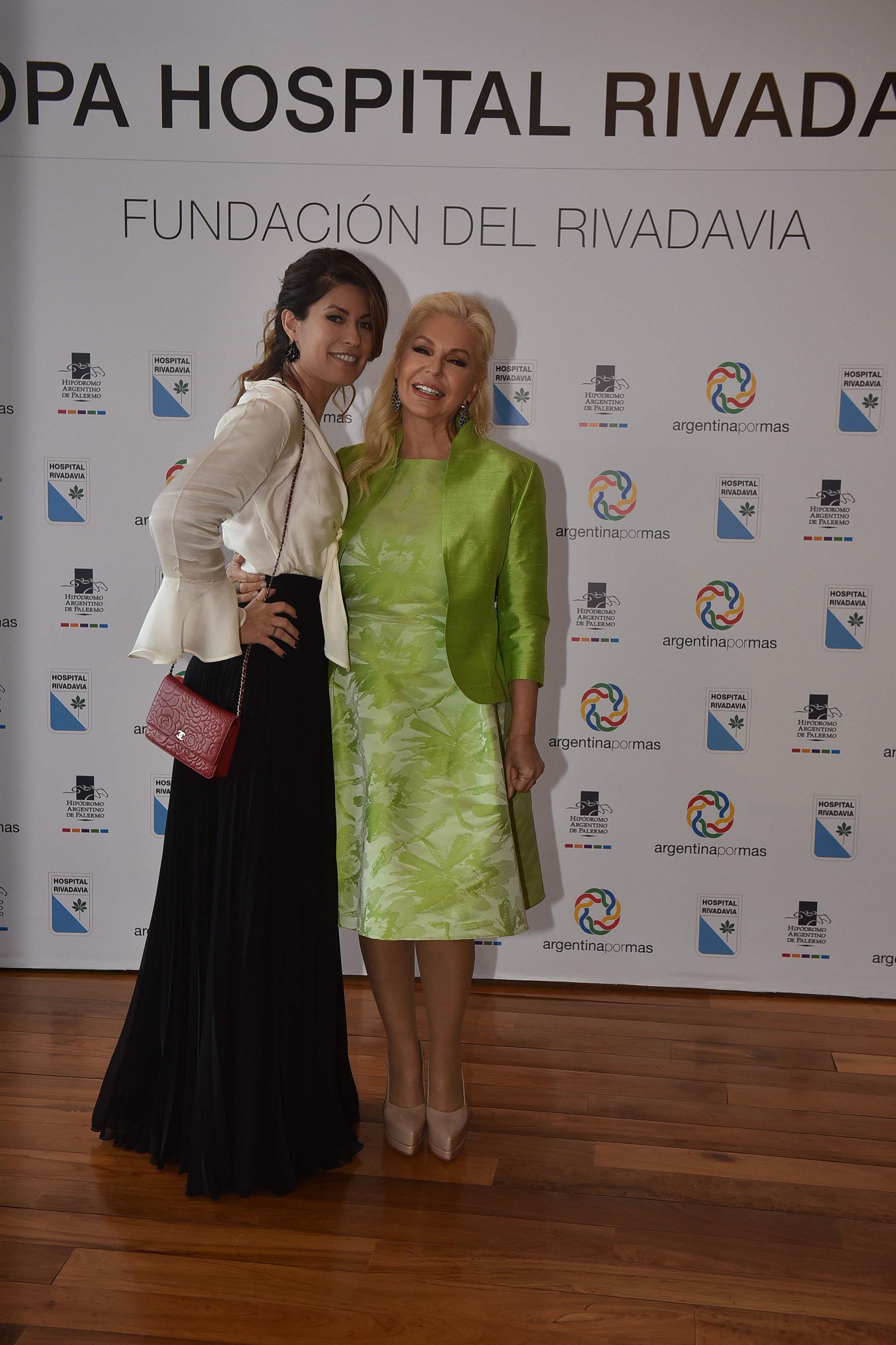 María Pinto y Diana Chugri