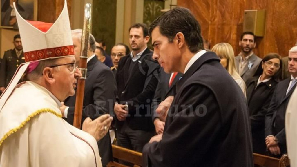 Mons Cargnello Juan Manuel Urtubey 1920 1