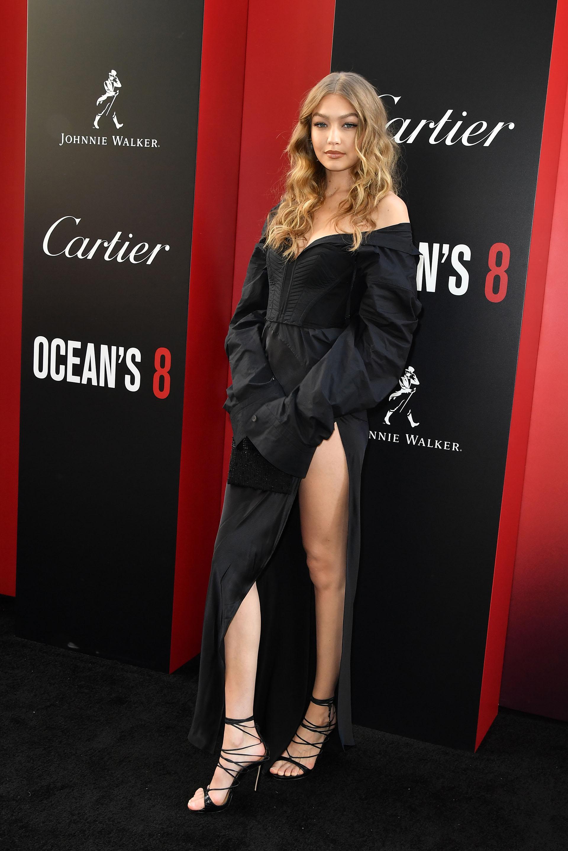 Gigi Hadid cautivó a todos en la red carpet de Nueva York, donde se presentó mundialmente Ocean's 8