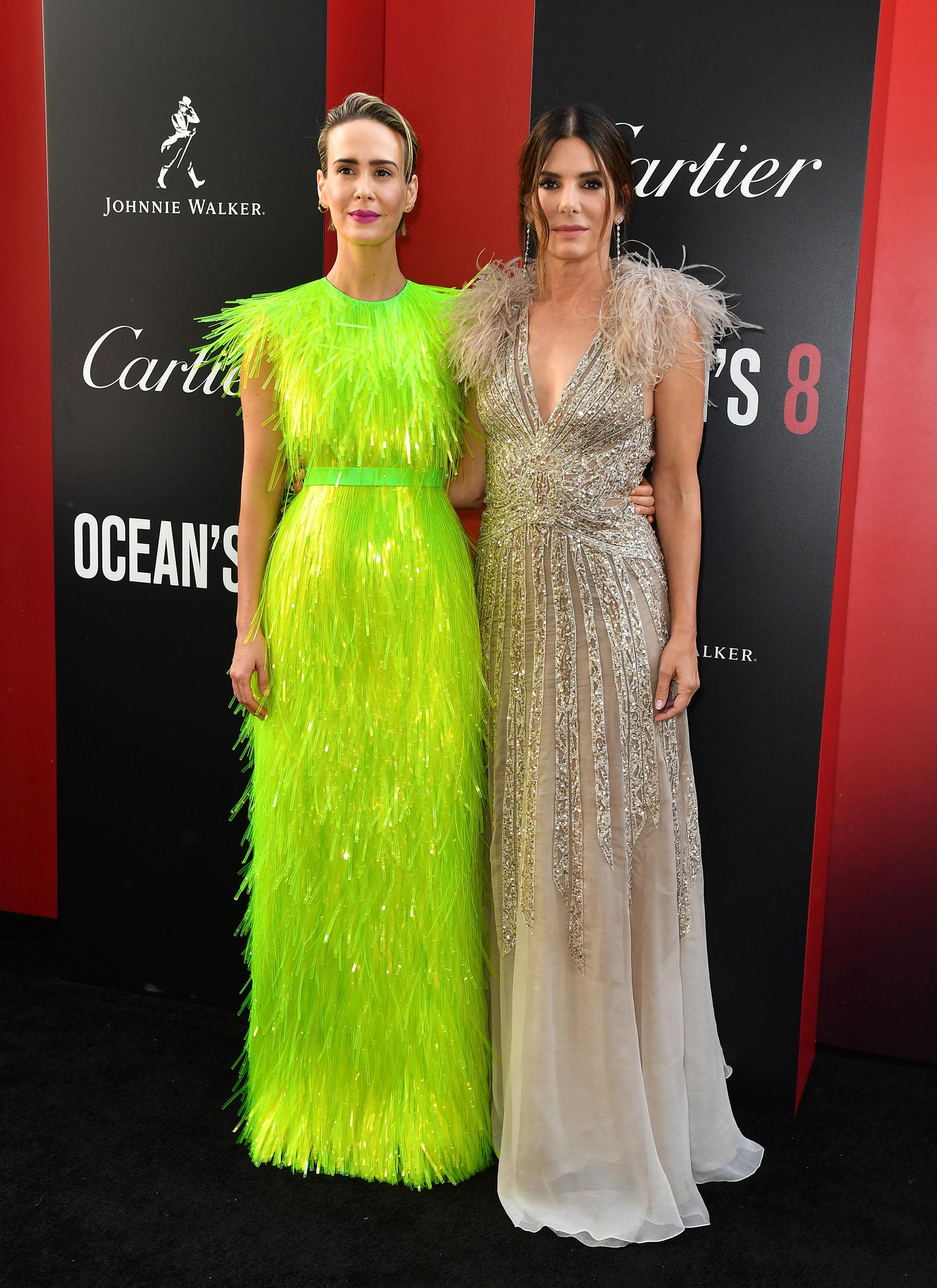 Fabulosas: Sarah Paulson y Sandra Bullock