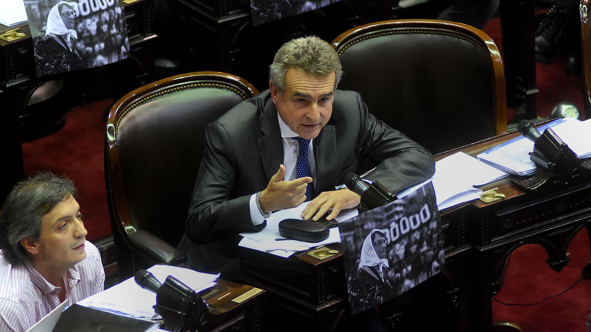 El diputado kirchnerista Agustín Rossi