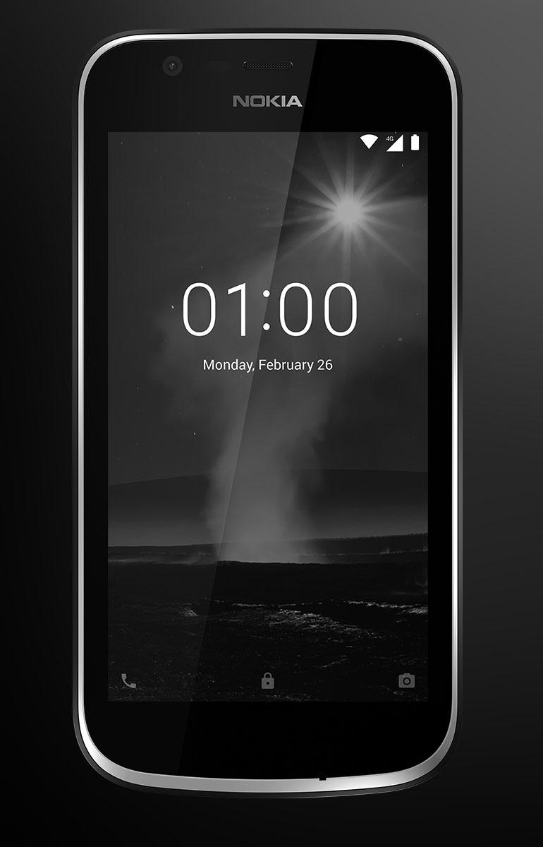 Nokia 1 es un celular gama baja con Android Oreo Go