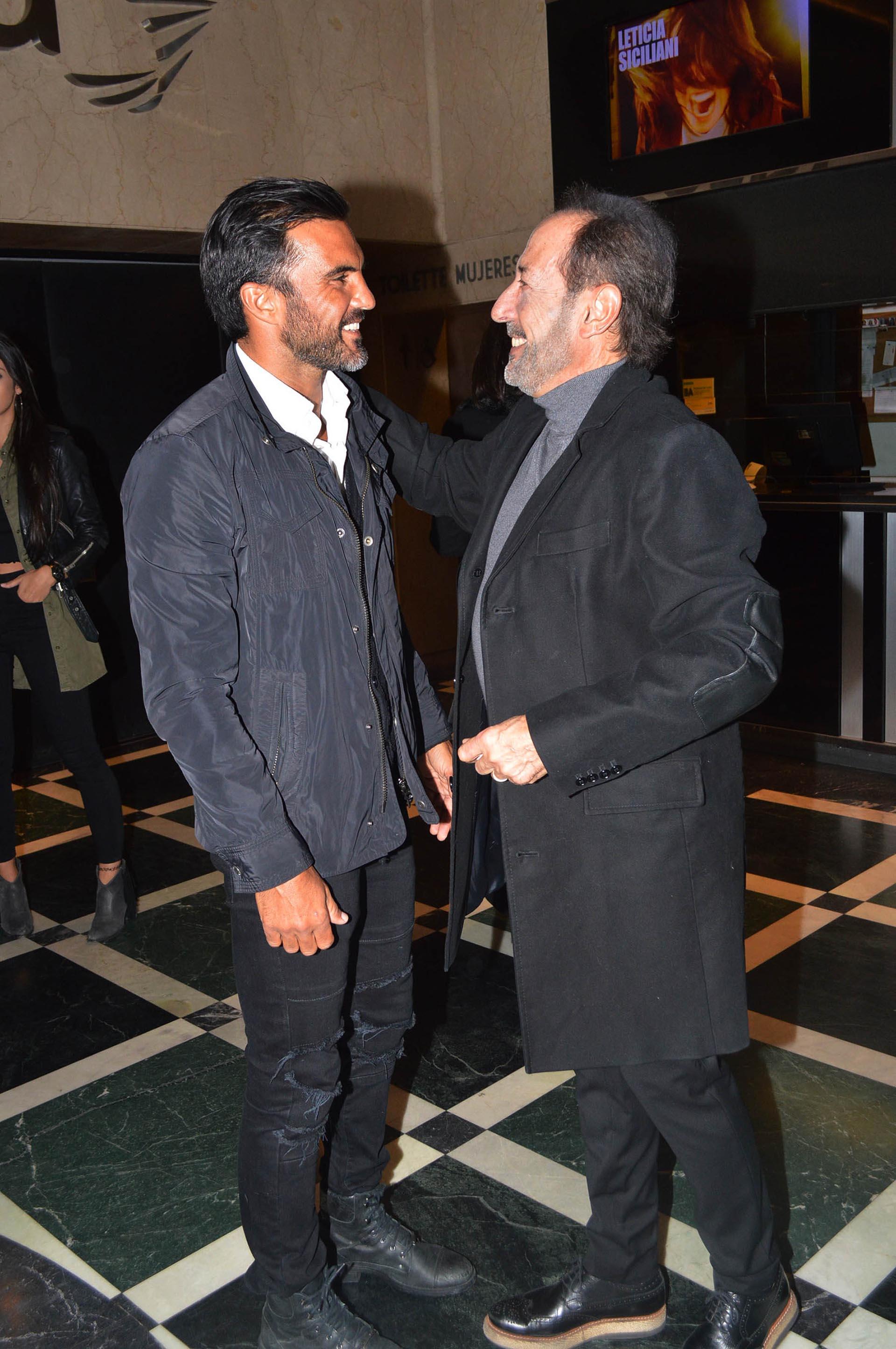 """Fabián Cubero y Guillermo Francella, director de """"Perfectos Desconocidos"""""""