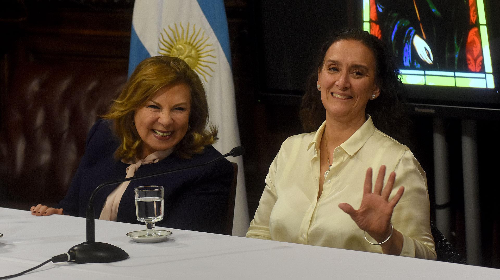 La Vicepresidente de la Nación y la Senadora nacional de Santiago del Estero