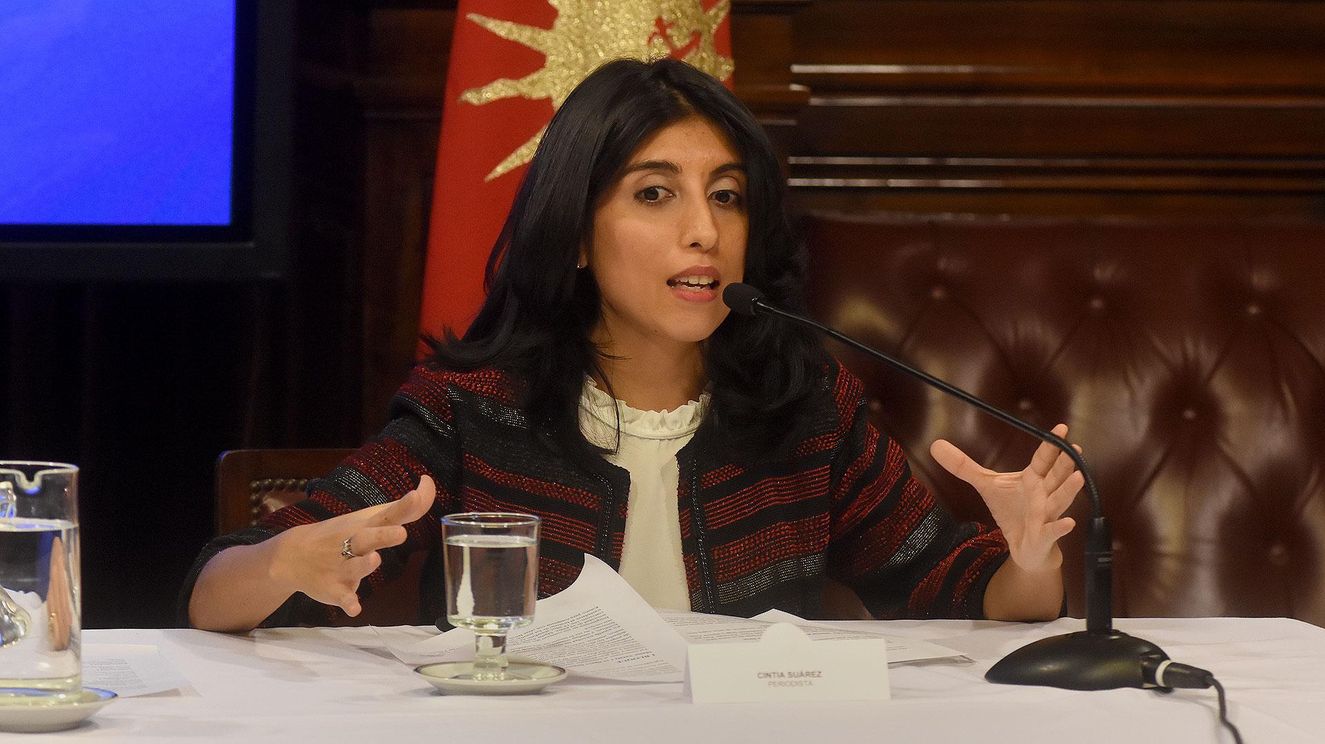 La licenciada Cintia Daniela Suárez escribió su tesis de sobre Mama Antula