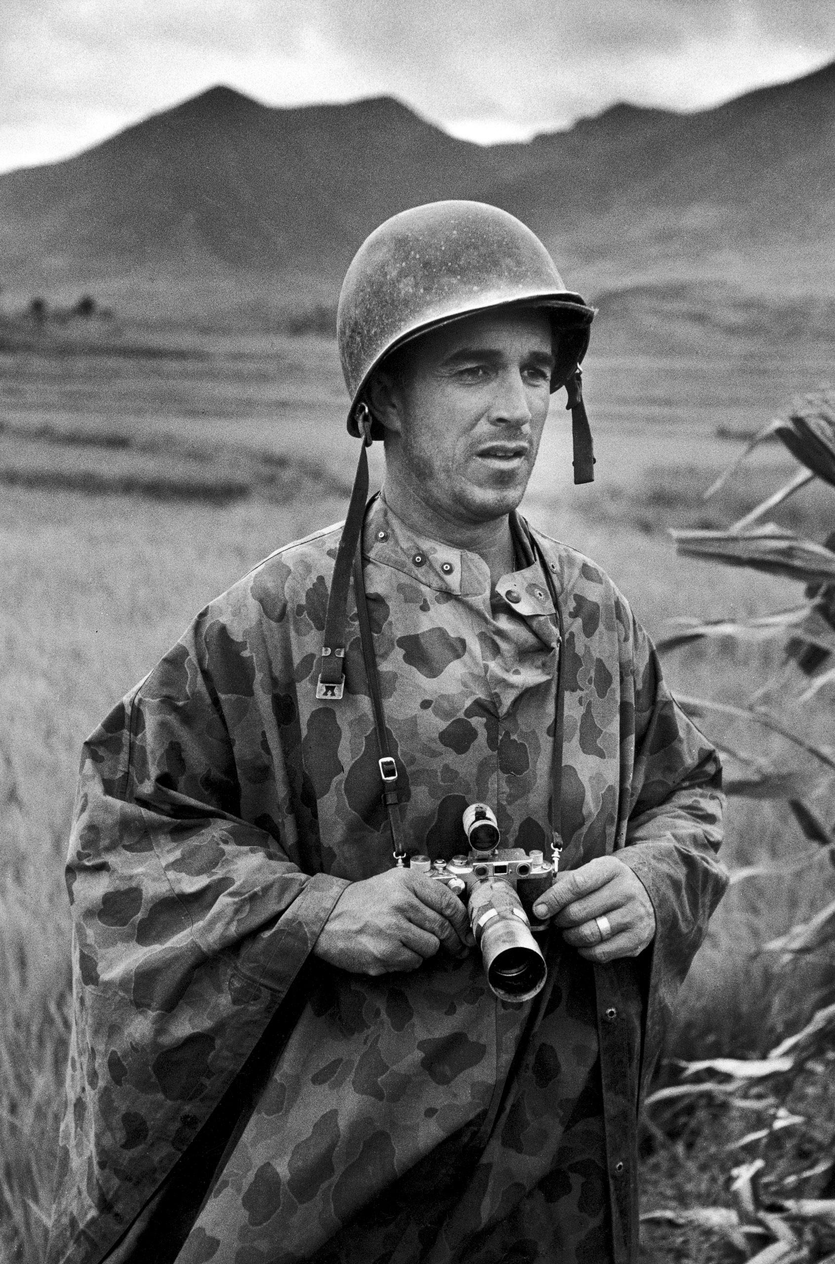 David Douglas Duncan en la Guerra de Corea