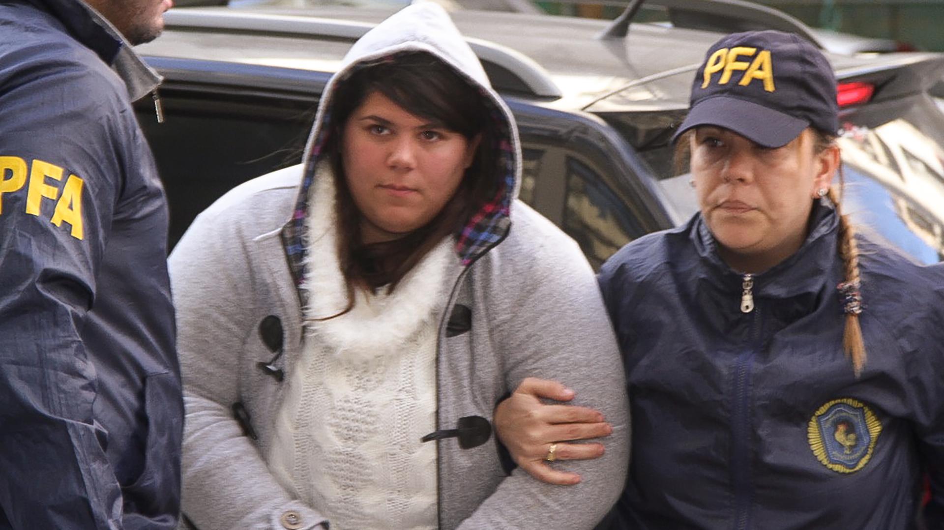 Julieta Estefanía Bonanno, la abogada que se hallaba el lunes último en el departamento de Belgrano